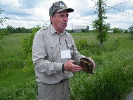 thumbnail_Bob with Blandings Turtle